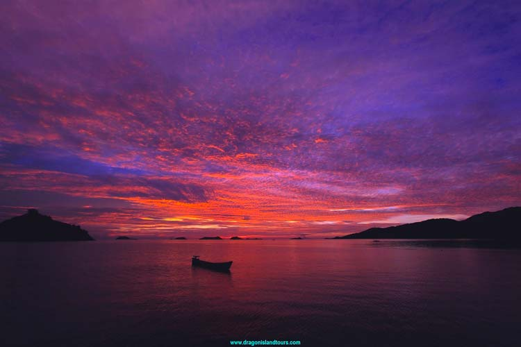 Maumere Bay Sunset